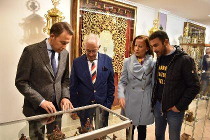 El Alcalde de Lorca inaugura la exposición ''Figuras tradicionales del Belén'' que se podrá visitar hasta el 3 de enero en la Casa Museo del Paso Morado
