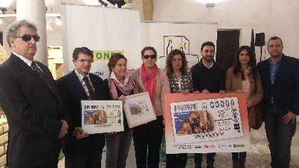 Un nacimiento del Museo del Belén de Lorca aparecerá en 5´5 millones de cupones de la ONCE del Día de Nochebuena