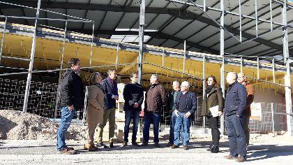 El eje de la carretera de La Hoya se consolida como corredor empresarial interior con la ampliación del polígono industrial y las obras para la construcción de nuevas instalaciones