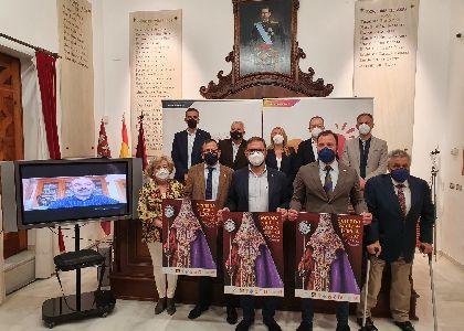 El cartel anunciador de la Semana Santa de Lorca 2021 tiene como protagonista al bordado lorquino