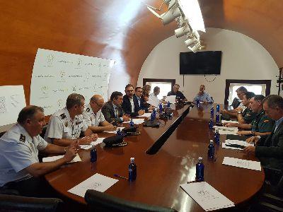 Cerca de 400 efectivos garantizarán la seguridad y el correcto desarrollo de la Feria y Fiestas de Lorca 2019