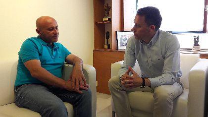 El Alcalde mantiene una ronda de reuniones de trabajo con los portavoces de los grupos políticos municipales