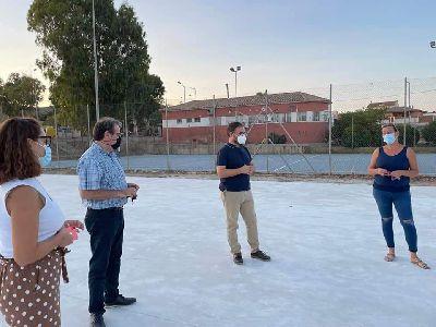 El Ayuntamiento de Lorca avanza en la culminación de las actuaciones de mejora incluidas en el Plan de Pedanías