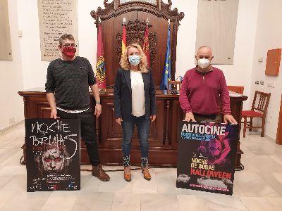 El Ayuntamiento organiza una sesión de autocine en el Huerto de la Rueda para la ''Noche de Brujas''