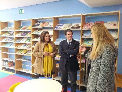El Alcalde de Lorca reinaugura el Centro Cultural de la Ciudad tras la rehabilitación de los daños de los seísmos, con la que ha mejorado su accesibilidad