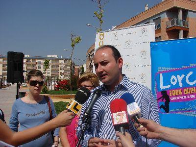 La Zona Wifi gratuita del Ayuntamiento de Lorca llega hasta la Plaza de Curtidores del Barrio San Cristóbal