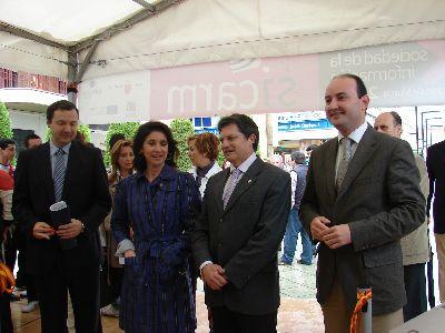 Lorca ofrece a los ciudadanos una feria abierta tecnológica gracias a SICARM 2010