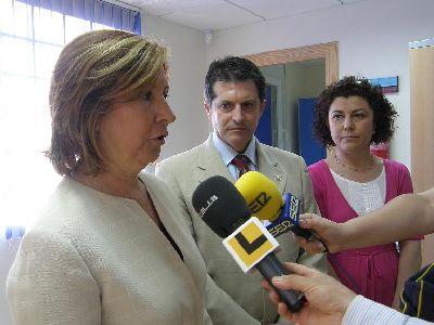 El nuevo consultorio de Atención Primaria de la diputación lorquina de Cazalla dará asistencia a una población de 4.000 personas