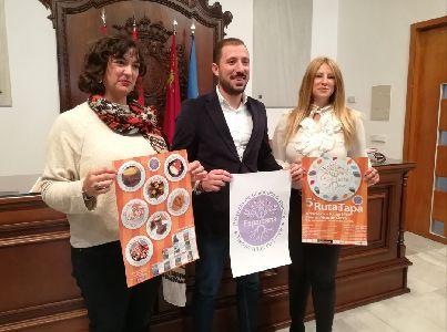 La Federación Espartaria organiza su V Ruta de la tapa aromática y fotográfica ''Pedanías Altas de Lorca'' en colaboración con la concejalía de Comercio