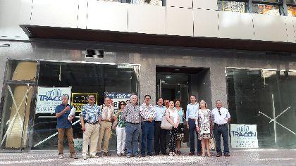 La reconstrucción del edificio Avenida 6 eleva hasta 920 las viviendas que se han vuelto a levantar en Lorca tras los terremotos de 2011
