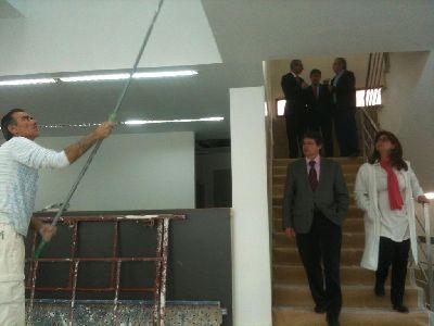 El Ayuntamiento de Lorca reabrirá en junio la Biblioteca Pilar Barnés, una vez que finalicen las obras de rehabilitación tras los seísmos