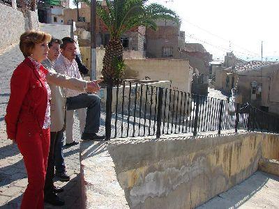El Ayuntamiento de Lorca destina 2,4 millones de euros a obra pública en el barrio de Santa María