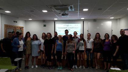 15 lorquinos participarán durante 5 meses en un curso de acondicionamiento físico organizado por la Concejalía de Desarrollo Local y Deportes con la colaboración del SEF