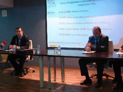 El 85% de los empresarios del sector de las telecomunicaciones asiste al encuentro organizado por el Ayuntamiento de Lorca