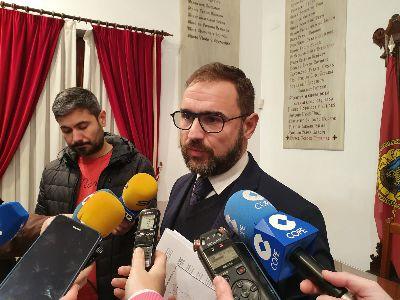 El Alcalde de Lorca pide a Iberdrola la indemnización y la mejora de las infraestructuras de energía eléctrica en las Pedanías Altas
