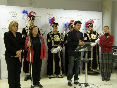 La Federación San Clemente de Lorca estrena una escolta de Maceros en honor al Patrón