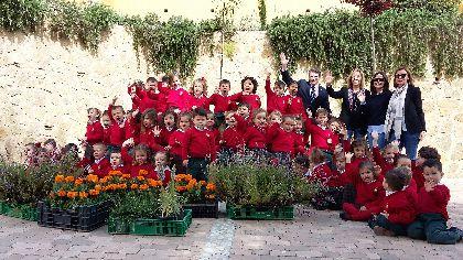 El Ayuntamiento amplía el catálogo verde lorquino con la plantación de 9.600 árboles y plantas en los últimos años