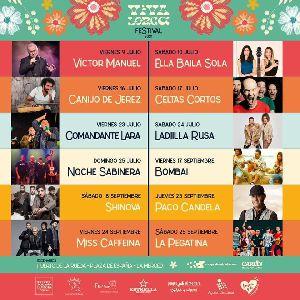 Víctor Manuel y la gira de regreso de Ella Baila Sola protagonizan el inicio del Festival Viva Lorca 2021