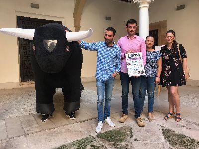 El Club Taurino celebra el próximo domingo una agenda de actividades para conmemorar la Feria de Lorca con encierro infantil, toro mecánico, fotomatón y plaza hinchable