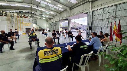 La Agrupación de Voluntarios de Protección Civil hace balance del trabajo realizado con especial atención a la pandemia