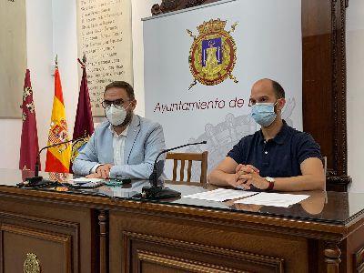 El alcalde hace un llamamiento a la responsabilidad para mantener entre todos la baja incidencia de COVID en Lorca