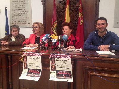 El Centro Cultural de Lorca acoge el miércoles por la tarde el XX Encuentro de poesía y música de San Valentín de la Asociación de Amas de Casa