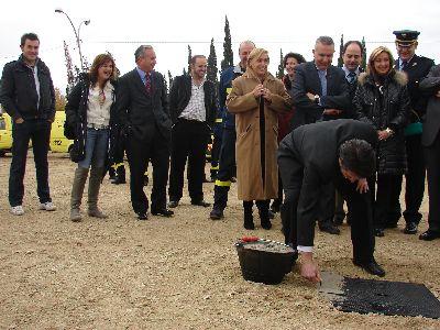 Se inician las obras del nuevo Centro Integral de Seguridad de Lorca