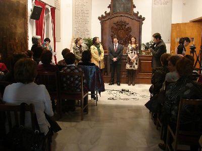 El Alcalde de Lorca, Francisco Jódar, recibe a 50 mujeres de la Universidad Popular de La Roda