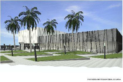 La primera fase del Centro de Congresos y Ferias de Lorca podrá acoger al mismo tiempo a más de 13.600 personas