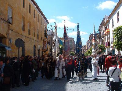La Semana Santa de Lorca opta a situarse entre las siete fiestas nacionales más destacadas, tras colocarse en el top de las 50 mejores
