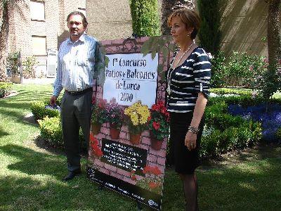 El Ayuntamiento de Lorca anima a los ciudadanos a adornar con plantas patios y balcones, llenando de color el municipio