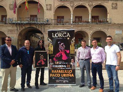 La Feria y Fiestas de Lorca incluyen este año un mano a mano entre los diestros Paco Ureña y Rafaelillo que tendrá lugar el día 25 con toros de José Luis Iniesta