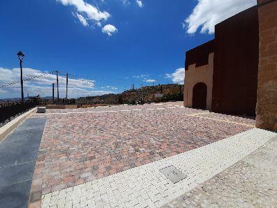 El Ayuntamiento recepciona las obras de la Plaza Coronela que permitirá contar con un nuevo espacio cultural y de recreo