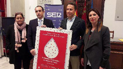 Fulgencio Gil anima a todos los lorquinos a participar en el Maratón de Donación de Sangre ''Ser Solidarios'' que se celebrará el 4 de diciembre en el Aula Cultural de Cajamurcia