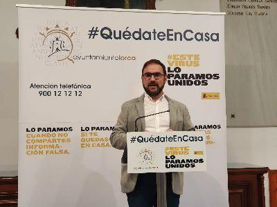 El Ayuntamiento de Lorca pone en marcha una ''Cuenta Solidaria'' para canalizar todas las ayudas