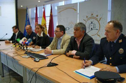 Belén Pérez anuncia que el dispositivo de seguridad y emergencias para la Semana Santa de Lorca contará con 550 personas y 75 vehículos