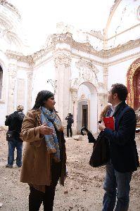 El Ayuntamiento inicia obras de emergencia en 20 monumentos del patrimonio lorquino para evitar daños por las inclemencias meteorológicas