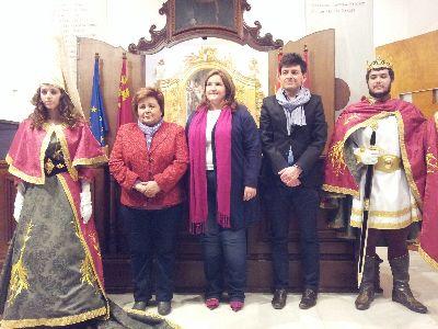 Las figuras del Infante Alfonso y la Infanta Violante de Aragón se incorporan este año al desfile de San Clemente