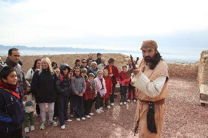 El castillo de Lorca celebra el 23 de noviembre una jornada de puertas abiertas con motivo de la festividad de San Clemente, patrón de la ciudad