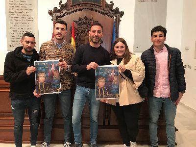 Francisco Hérnandez de la Asociación Juvenil Paso Morado será el encargo de pronunciar el III Pregón Juvenil de la Semana Santa de Lorca