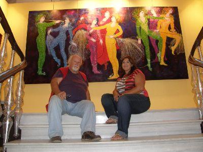 El Huerto Ruano acogerá del 12 al 30 de septiembre la exposición ''Óleos y Esculturas'' del pintor Coronado a favor de la Fundación Paso Azul