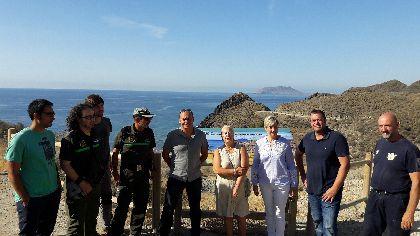 El Ayuntamiento y la CARM coordinan el diseño de nuevas medidas de mejora y conservación para el litoral lorquino