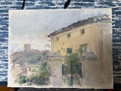 El Centro Cultural Espín acogerá una exposición con la obra del pintor Pedro Serna entre el 13 de mayo y el 30 de junio