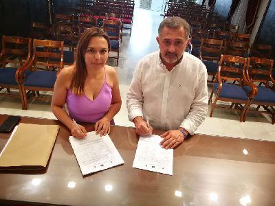 El Consistorio y el grupo de acción local Campoder firman la resolución para la realización de un documental que promocionará el patrimonio cultural de las pedanías del sur