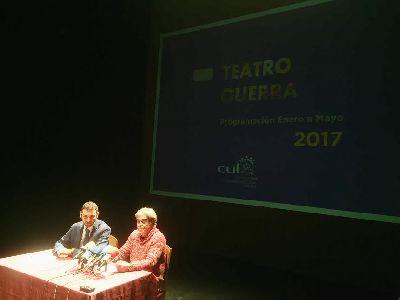 La programación del Teatro Guerra para el primer semestre del año cuenta con 19 espectáculos y se articula en torno a cinco espacios diferentes pensados para todos los públicos
