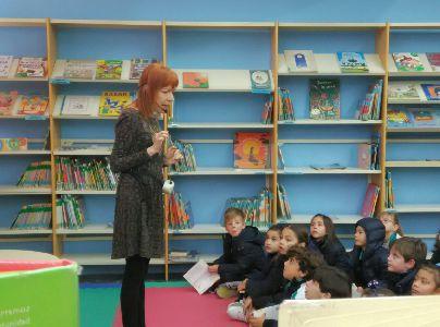 Vuelven los ''Sábados de Cuento'' a la Biblioteca Infantil y Juvenil con la participación de Iñaky Santiago el próximo día 7 a las 12 horas