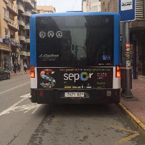 El Ayuntamiento de Lorca logra en tres meses aumentar un 12% los viajeros tras las mejoras en los autobuses urbanos