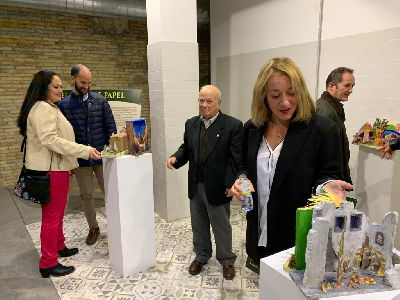 El Mercado del Sol acogerá hasta el 7 de enero una muestra de belenes recortables organizada por la Asociación Belenista de Lorca y la Asociación Comercial Lorca Centro Histórico