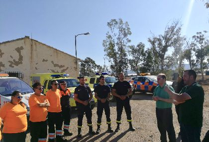 El Ayuntamiento y la CARM mantienen activas hasta el 30 de septiembre las patrullas de vigilancia y detección de incendios forestales del Plan INFOMUR dentro del municipio