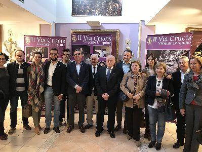 40 personas interpretarán el II Viacrucis Viviente que organizan Paso Morado y Ayuntamiento para la noche del Lunes Santo